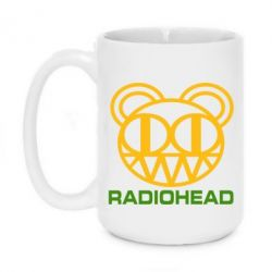 Кружка 420ml Radiohead - FatLine