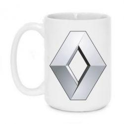 Кружка 420ml Renault Logo