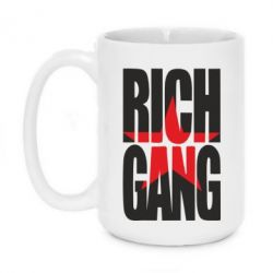 Кружка 420ml RICH GUNG YOUNG MONEY - FatLine