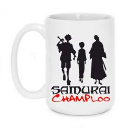 Кружка 420ml Samurai Champloo Trio