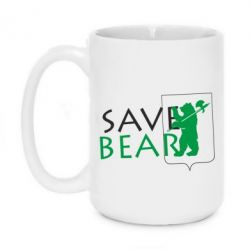 Кружка 420ml Save Bears - FatLine