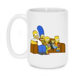 Кружка 420ml Семейство Симпсонов