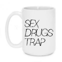 Кружка 420ml Sex, Drugs, Trap