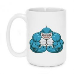 Кружка 420ml Shark Gym