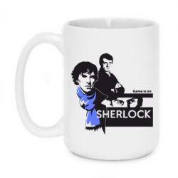 Кружка 420ml Sherlock (Шерлок Холмс)