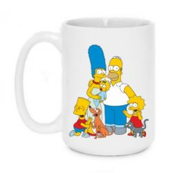 Кружка 420ml Simpsons Family