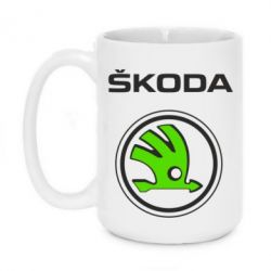 Кружка 420ml Skoda Bird - FatLine