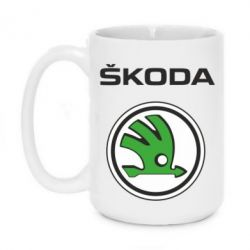 Кружка 420ml Skoda - FatLine