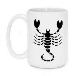 Кружка 420ml скорпион - FatLine