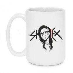 Кружка 420ml Skrillex Logo - FatLine