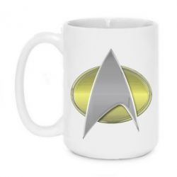Кружка 420ml Star Trek Gold Logo - FatLine