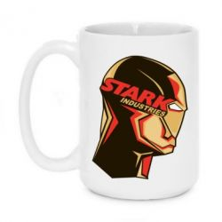 Кружка 420ml Stark Industries - FatLine
