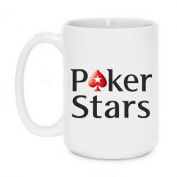 Кружка 420ml Stars of Poker - FatLine