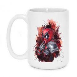 Кружка 420ml Стесняшка Deadpool