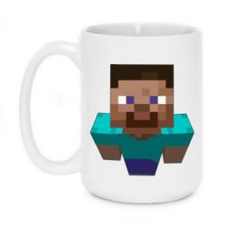 Кружка 420ml Steve from Minecraft - FatLine
