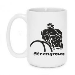 Кружка 420ml Strongman