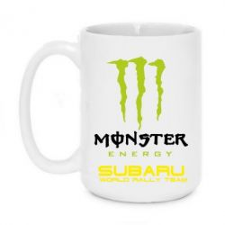 Кружка 420ml Subaru Monster Energy - FatLine