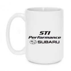 Кружка 420ml Subaru STI - FatLine