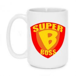 Кружка 420ml Super Boss - FatLine