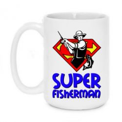 Кружка 420ml Super FisherMan - FatLine