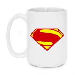 Кружка 420ml Superman Человек из стали - FatLine