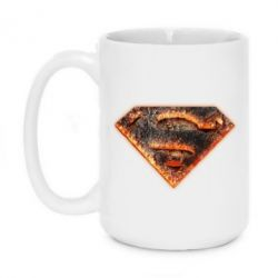 Кружка 420ml Superman Molten metal