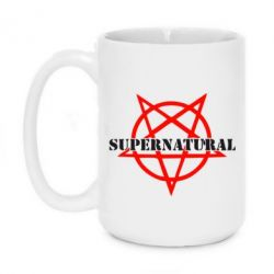 Кружка 420ml Supernatural - FatLine