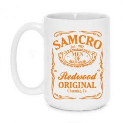 Кружка 420ml Сини Анархії Samcro - FatLine