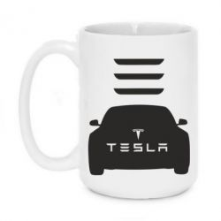 Кружка 420ml Tesla Car - FatLine