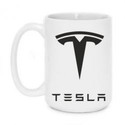 Кружка 420ml Tesla Logo - FatLine
