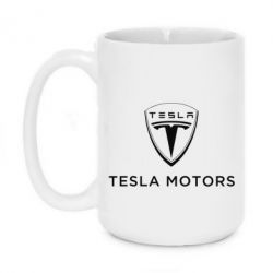 Кружка 420ml Tesla Motors