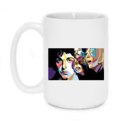 Кружка 420ml The Beatles Art