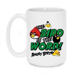 Кружка 420ml The bird in world Angry Birds - FatLine