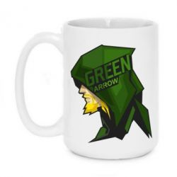 Кружка 420ml The Green Arrow - FatLine