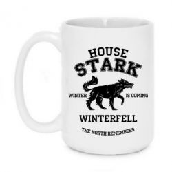 Кружка 420ml The North Remembers - House Stark - FatLine
