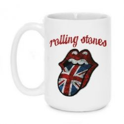 Кружка 420ml The Rolling Stones British flag