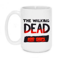 Кружка 420ml The Walking Dead 400 days