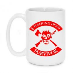 Кружка 420ml The walking dead survivor - FatLine