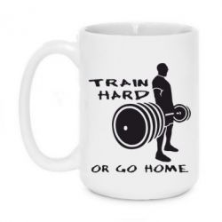 Кружка 420ml Train Hard or Go Home - FatLine