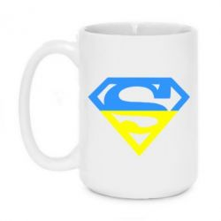 Кружка 420ml Український Superman - FatLine