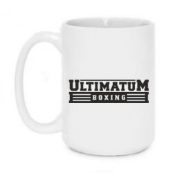Кружка 420ml Ultimatum Boxing - FatLine