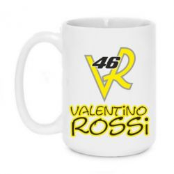 Кружка 420ml Valentino Rossi 46 - FatLine