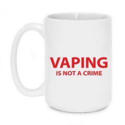 Кружка 420ml Vaping is not a crime - FatLine