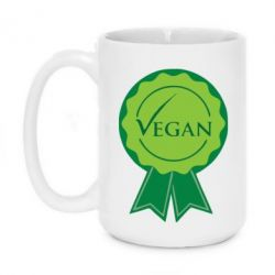 Кружка 420ml Vegan