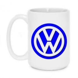 Кружка 420ml Volkswagen Logo - FatLine