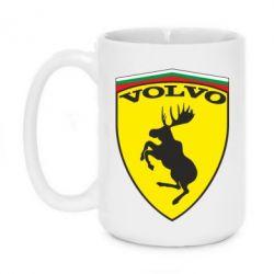 Кружка 420ml Volvo Logo - FatLine