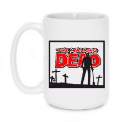Кружка 420ml Walking dead logo