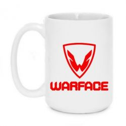 Кружка 420ml Warface Logo