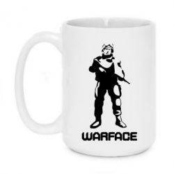 Кружка 420ml Warface