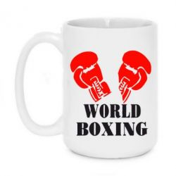 Кружка 420ml World Boxing - FatLine